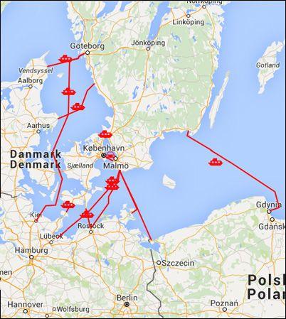bila i europa karta Planera bilresan söderut bila i europa karta