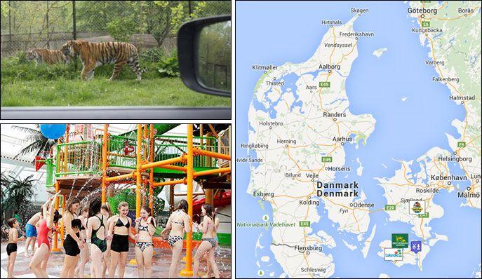 karta över billund danmark Barnsemester testar: De Danska Sydkusterna karta över billund danmark