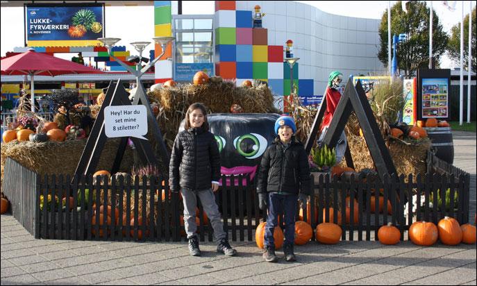 Barnsemester testar  Halloween på Legoland 44020de221166