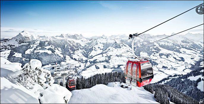 Skidorter österrike barnvänligt