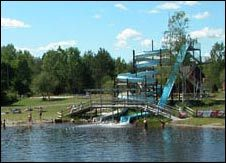 Berkinge Fiskecamp Familjebad Utomhus