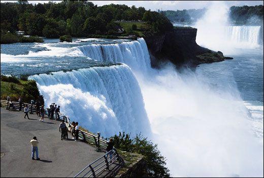 niagarafallen karta Niagarafallen niagarafallen karta