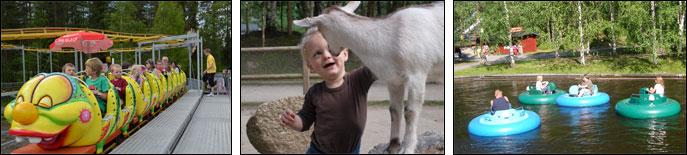 Lycksele Djurpark Barnsemesterkortetse