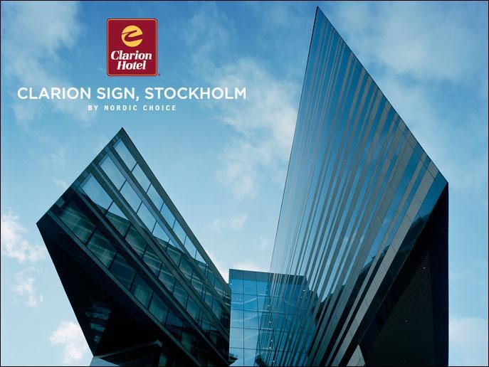 Clarion Hotel Sign i Stockholm